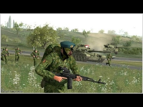 ЖЕСТОКАЯ БИТВА АРМИИ РОССИИ И США ! В Игре про 3 Мировую Войну В Тылу Врага 2 Cold War