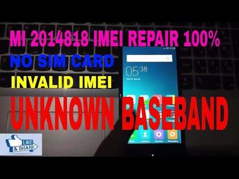 Lost IMEI Xiaomi Redmi note 3, Baseband 100% fixx solution