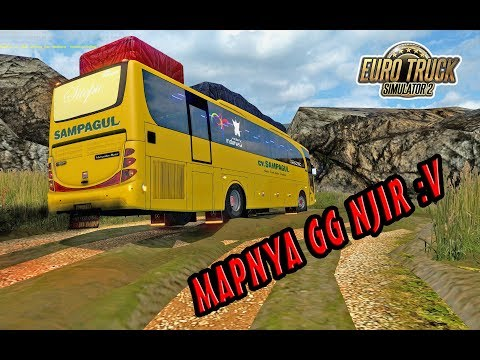 M.I.I Map Legend Yang Paling Bikin Supir Emosi :v Offroad Pake Bus CV. SAMPAGUL