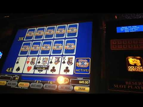 Ultimate x video poker triple draw. High stakes Danny goes big.