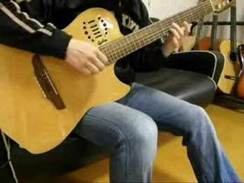 tune the rainbow  guitar from Rahxeph