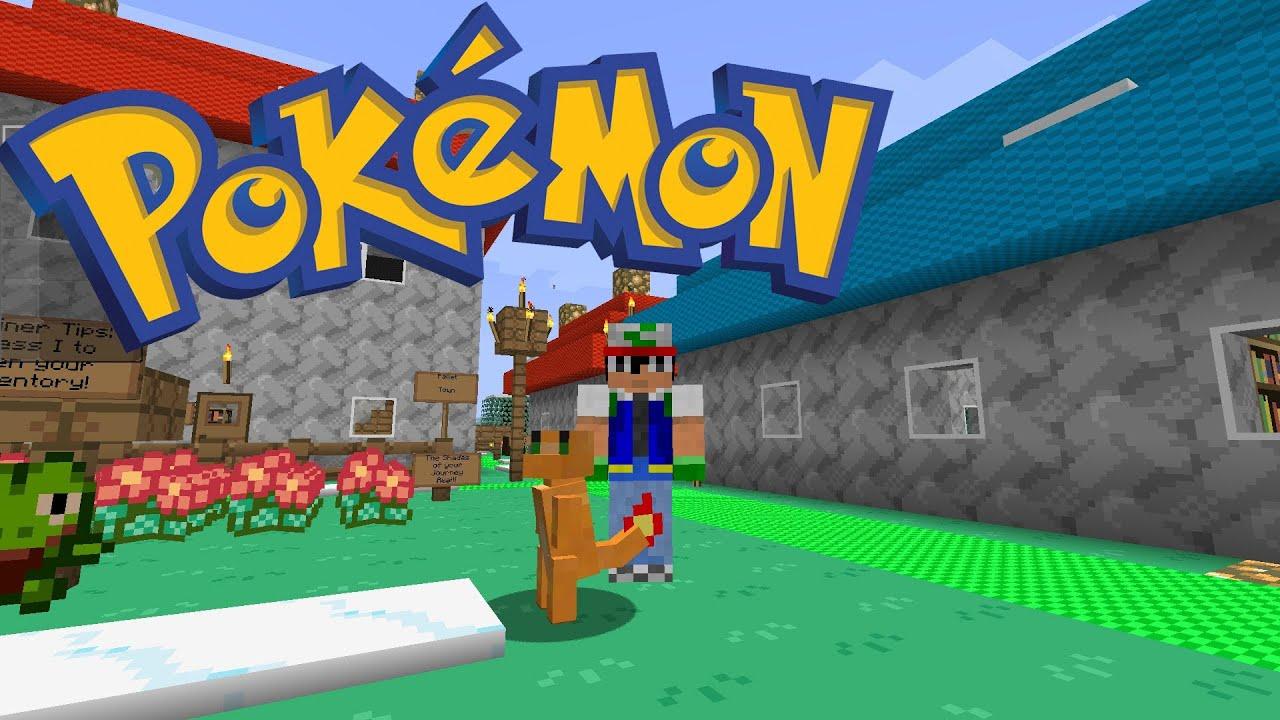Yo juego Vosotros decids  Pokmon en Minecraft Ep0  YouTube