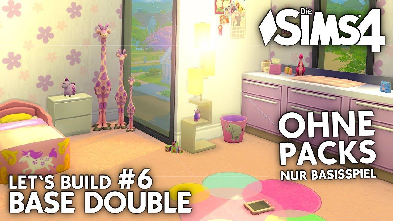 Die Sims 4 Doppelhaus Bauen Ohne Packs Base Double 6 Baby Zimmer