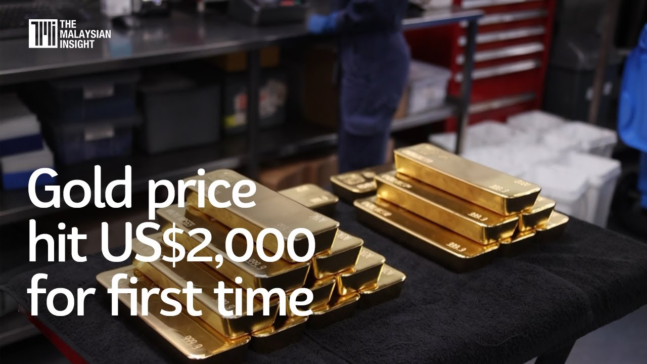 Gold price hit US$2,000 for first time