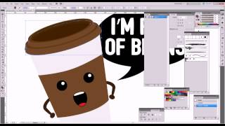 Full Of Beans illustrator video