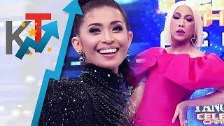Ana at Vice Ganda, rumampa sa TNT stage