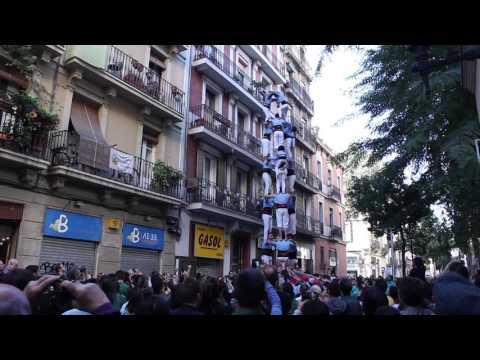 Castellers del Poble Sec - 3d8  PG -  Diada de Tardor (15-XI-15)
