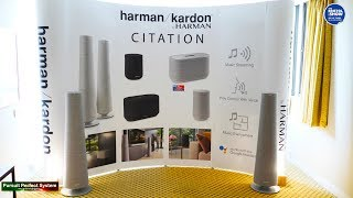 Harman Kardon NEW CITATION Voice Activated Streaming Full Speaker Range @ Bristol HiFi Show 2019
