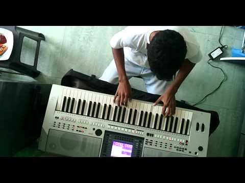 Engeyum Kadhal Song - Dhimu Dhimu On Keyboard
