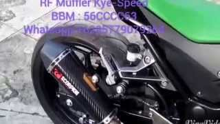Exhaust Scorpion Carbon Fullsystem for Ninja250,Kawasaki Z250,R25,CBR