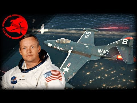 Neil Armstrong's F9F | War Thunder Gameplay Review & History