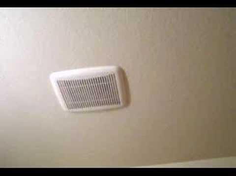 Bath Fan Dust Collector Noise Youtube