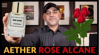 Aether Rose Alcane Fragrance Review + Full Bottle USA Giveaway 🌹🌿