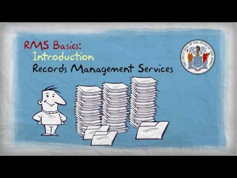Introduction to RMS (Records Management Services) - Module 1
