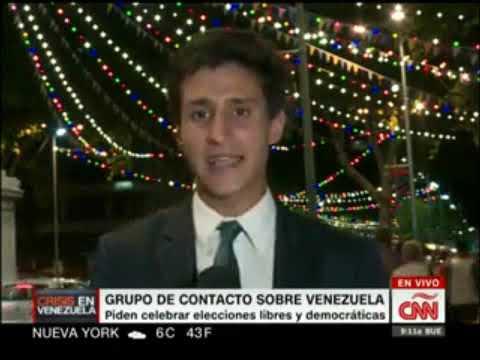 Cafe CNN 8 2 AYUDA ESTA EN CUCUTA Y ES BLOQUEADA por GNB Guarimbera. Entrevista a Prof. EMILI BLASCO