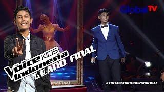 "Nuca ""Seperti Yang Kau Minta"" Grand Final The Voice Kids Indonesia GlobalTV 2016"