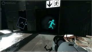 Portal 2 X360 - E3 2010: Demo Part 5: Pneumatic Diversity