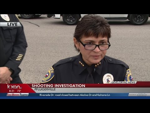 Pflugerville police chief briefs media on homicide