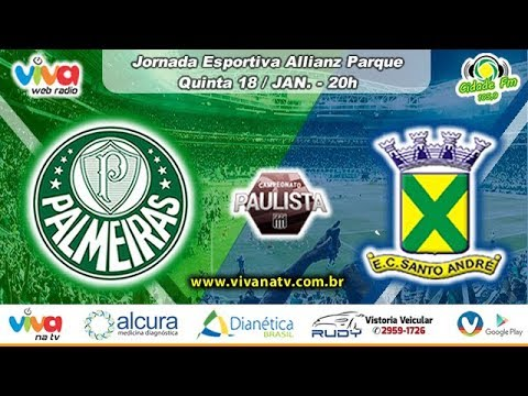 ⚽ Palmeiras x Santo André AO VIVO ⚽ Campeonato Paulista 🏆