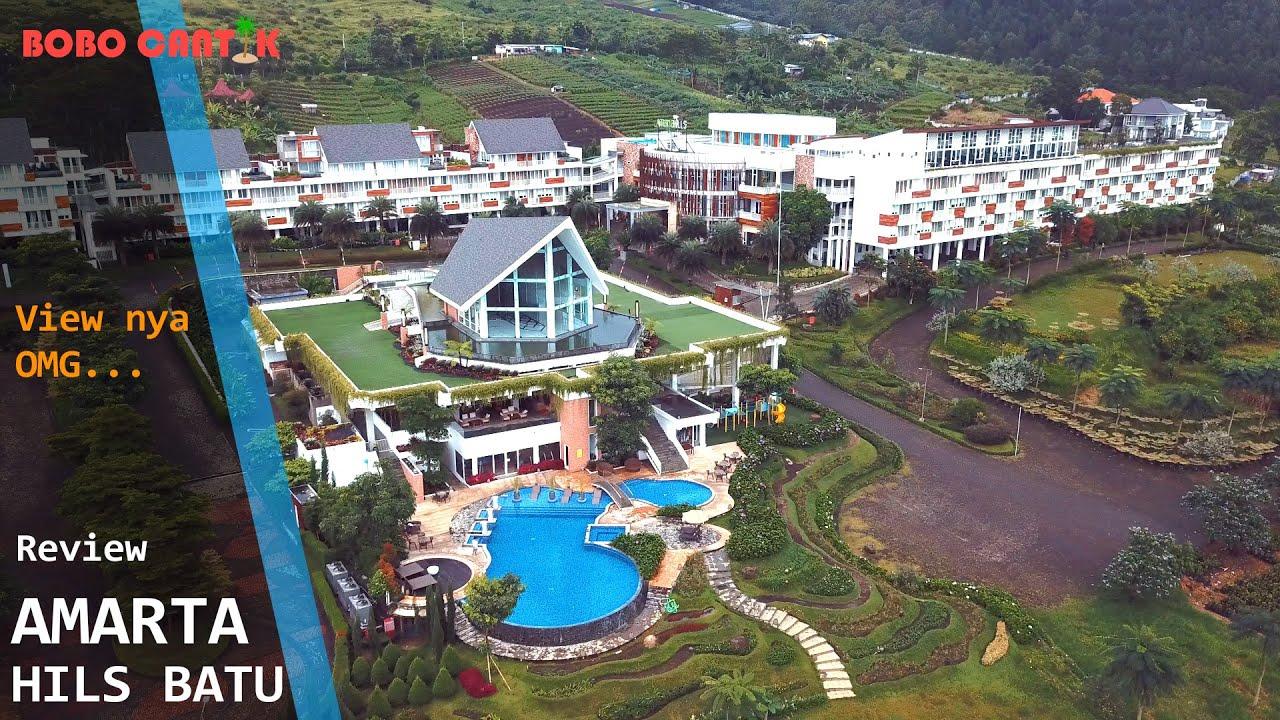 AMARTA HILLS HOTEL BATU - View Gemerlap keindahan kota ...