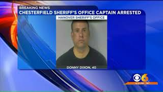 Chesterfield deputy arrested on child porn charges