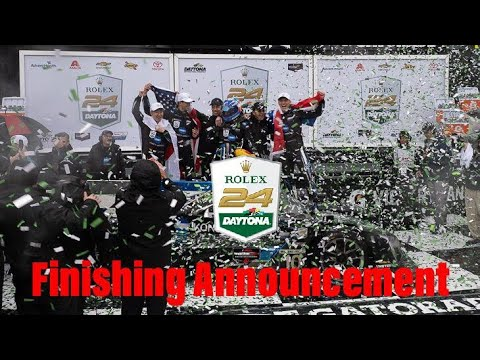 Rolex 24h Daytona 2019 | Race Highlights + Finishing Announcement