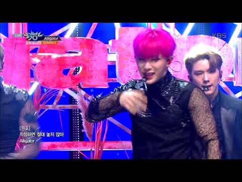뮤직뱅크 Music Bank - Alligator - 몬스타엑스 (MONSTA X).20190222