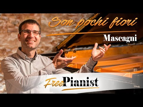 Son pochi fiori - KARAOKE / PIANO ACCOMPANIMENT - L'amico Fritz - Mascagni