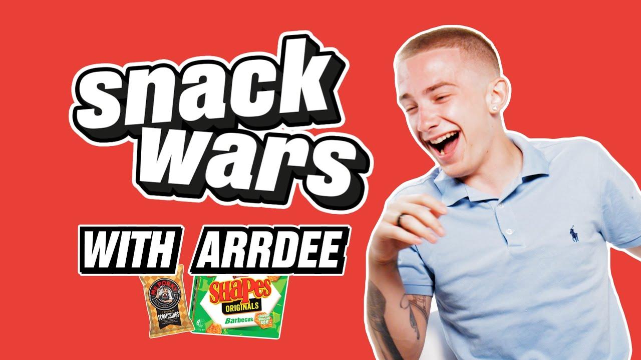 ArrDee Tries British and Australian Snacks | Snack Wars | @LADbible TV