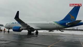 Maandalizi ya Kuondoka Montreal Canada kwa Airbus NGORONGORO
