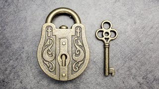 Trick lock. Do you need a key to open it?