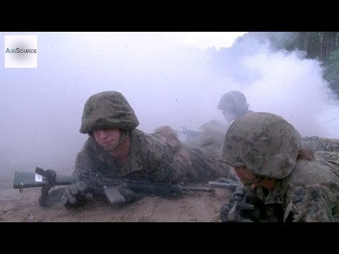 US Marine Corps Boot Camp Final Test: The Crucible