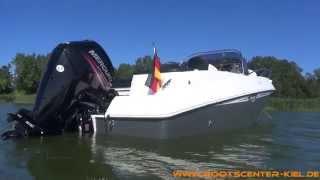 Galia 570 Sundeck mit Mercury F 80 ELPT EFI -Bootscenter Kiel-