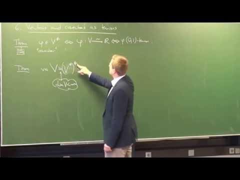 Lecture 3: Multilinear Algebra (International Winter School on Gravity and Light 2015)