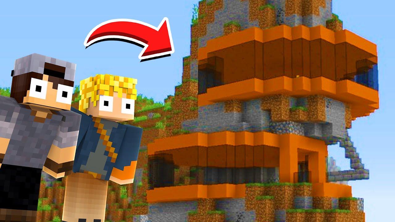 Minecraft: AMIGOS #3 - CONHECENDO A NOVA CASA NA MONTANHA DO LOPERS !!