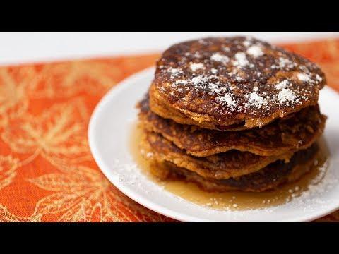 Gluten-free Pumpkin Pancakes | Healthy Recipe