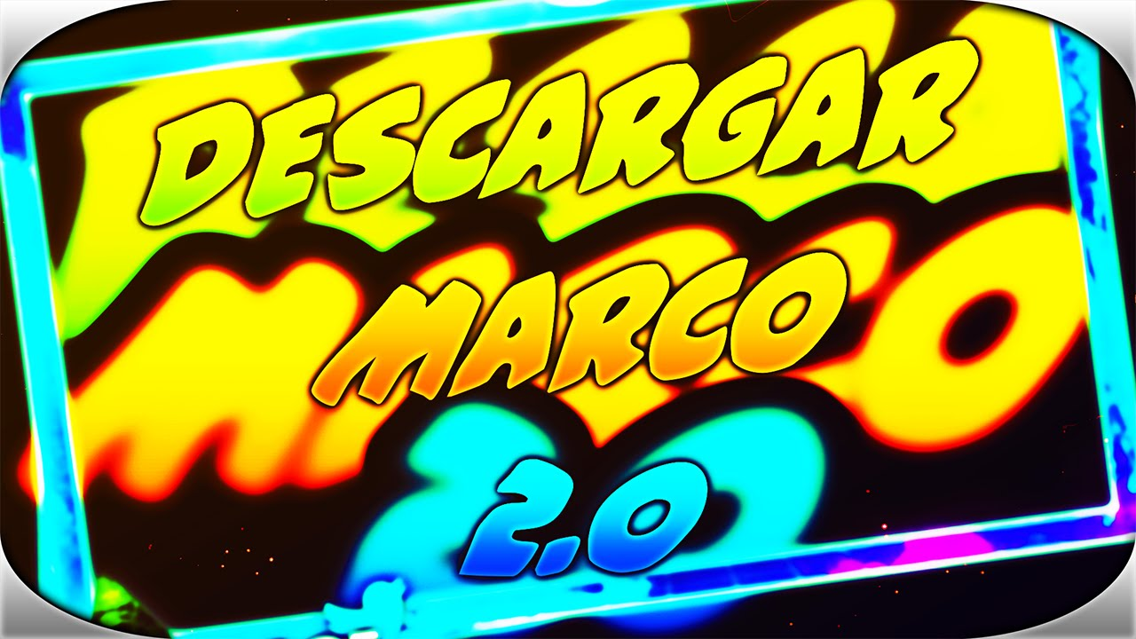 DESCARGAR MARCO 2.0 EDITABLE PARA PHOTOSHOP CS6 - YouTube