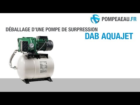 Dab aquajet pompe surpresseur d ballage youtube for Pompe a eau de jardin