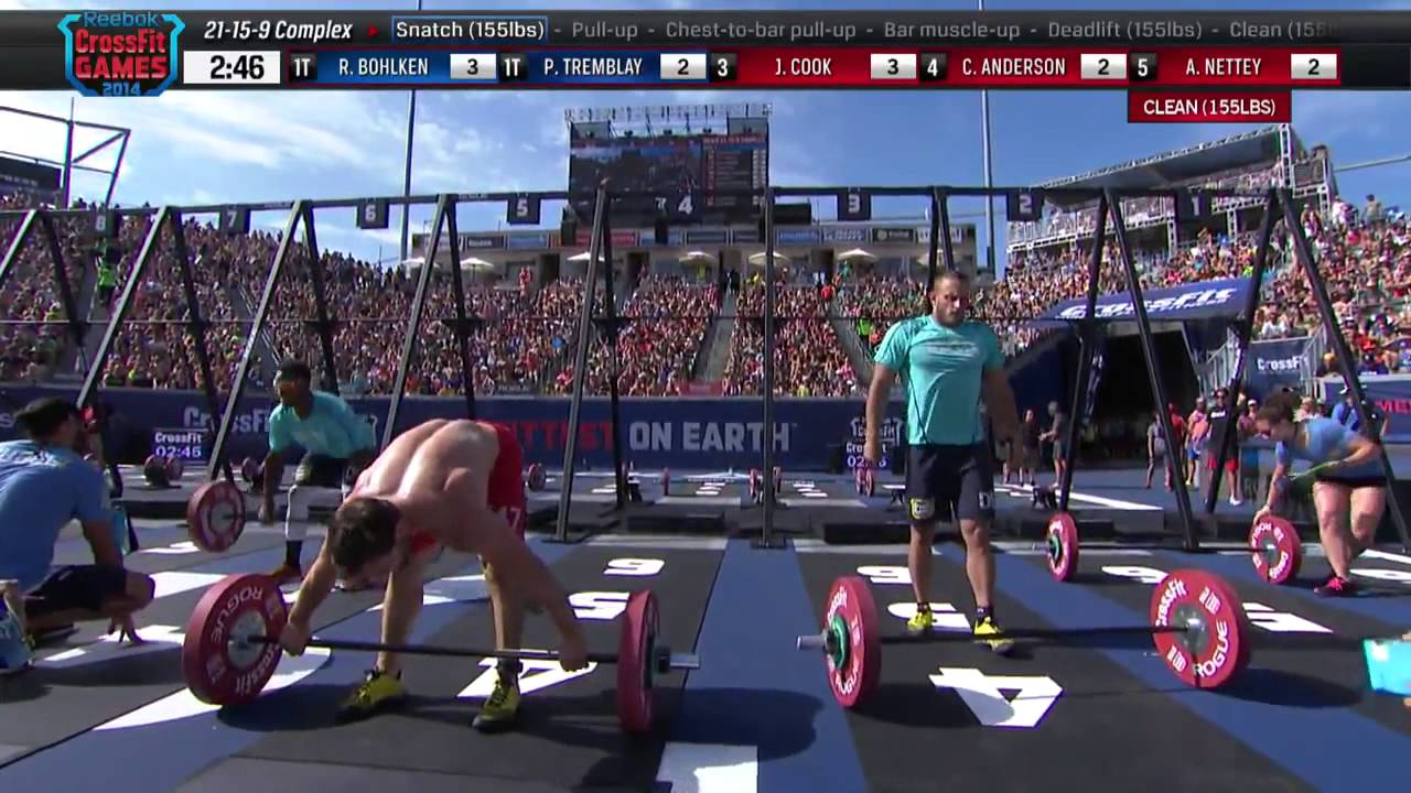 The CrossFit Games: Individual 21-15-9 Complex - YouTube