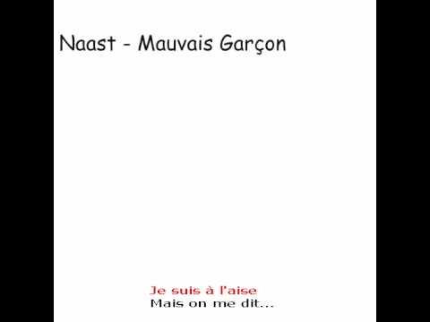 Naast - Mauvais Garcon with lyrics