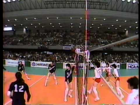 Volleyball JAPAN CUP 87 women JPN x CHI - start broadcasting from 2nd set