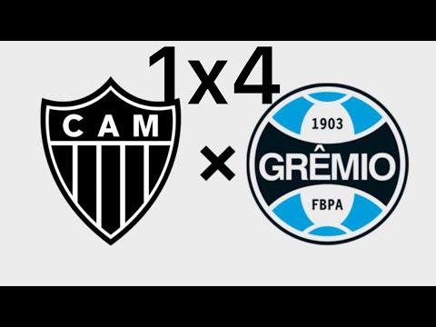 Atlético MG 1x4 Grêmio (HD) Melhores momentos e Gols 13/10/2019