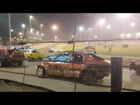 Vlog: Part 4, CAR FLIPPED?!, Arlington Raceway!