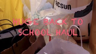 HUGE BACK TO SCHOOL HAUL Thumbnail