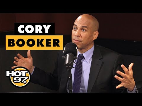 Cory Booker On 2020 Presidential Run, Legalizing Marijuana & Former President Bush's Passing