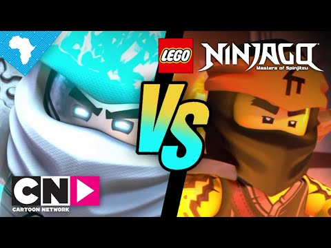 Fire And Ice Mashup | Ninjago | Cartoon Network Africa