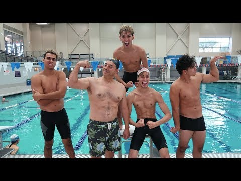 Thumbnail: HILARIOUS SWIMMING COMPETITION!