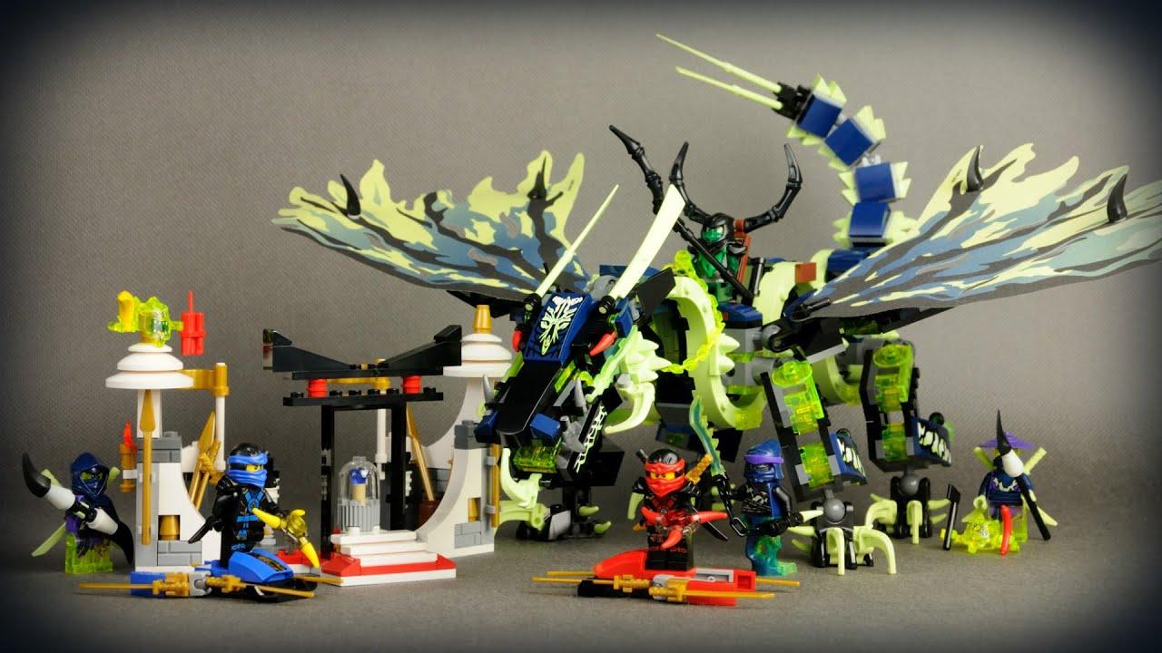 Lego Ninjago Atak Smoka Moro 70736 Recenzja Youtube