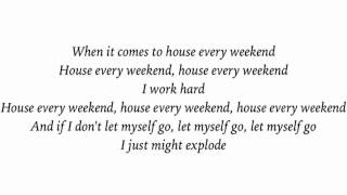 David Zowie ~ House every weekend Lyric Video 1.25x speed