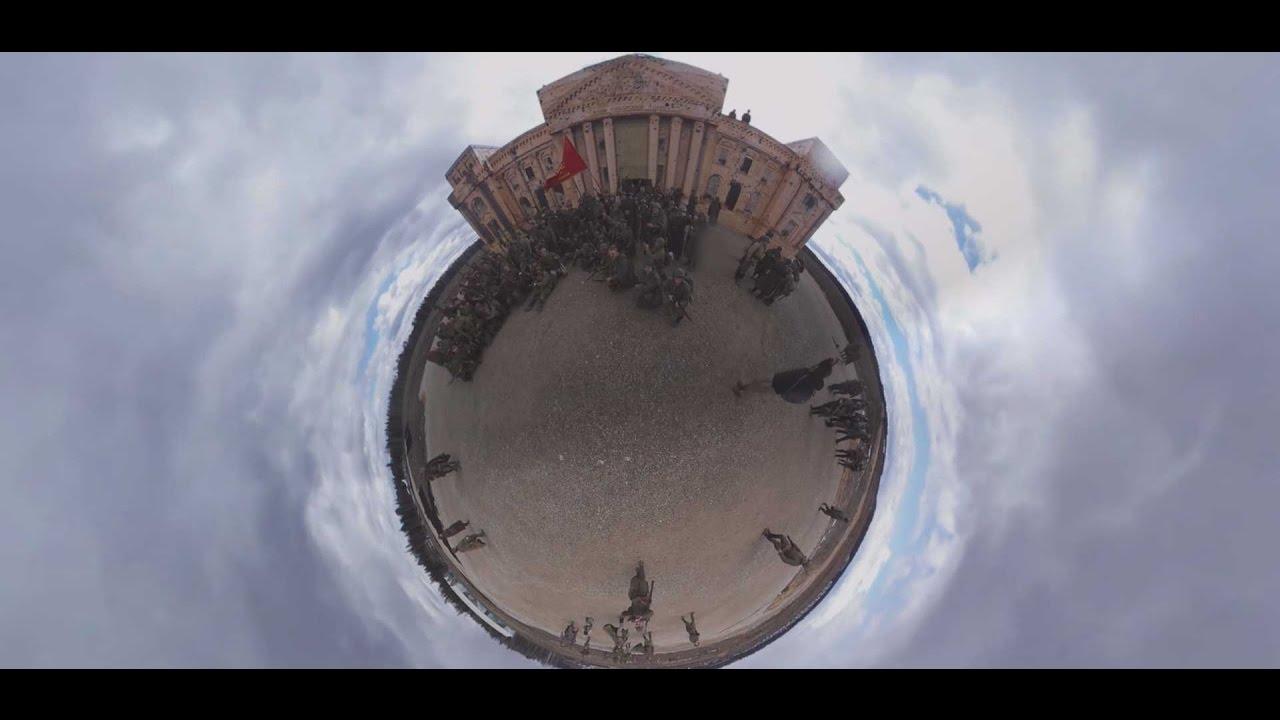 Видео 360°: реконструкция штурма Берлина